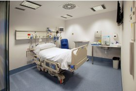 ICU examination room