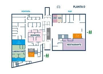 Planta de clinica de planta de clinica de galera de for Oficinas sanitas barcelona